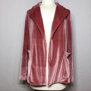 • Nasty Gal • Velvet Jacket